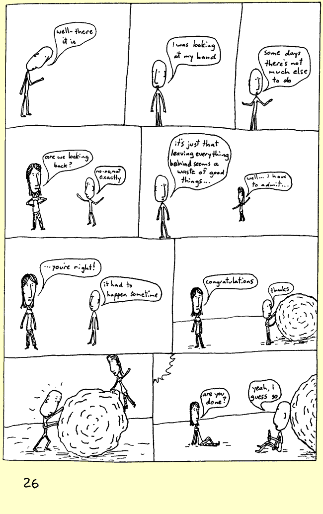 comics in between the lines no 3 small page 26